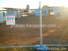 galvanized welded temporary fence