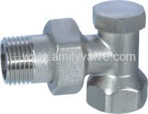 Brass-radiator valve
