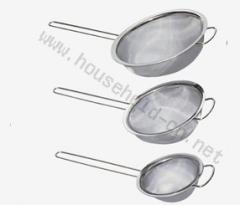 3pcs set kitchen sieve