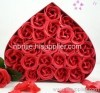 Red Rose Soap Flower