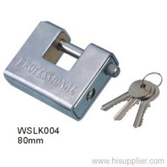 Armored Brass padlock
