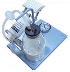 Pedal suction machine