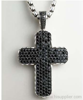 Mens jewelry cross pendant 925 silver studded jewelry pave chevron mens jewelry cross pendant 925 silver studded jewelry pave chevron double sided cross pendant aloadofball Images
