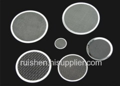 Stainless Steel Woven Discs