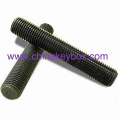 Steel carriage bolts