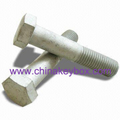 Partial thread bolt-9