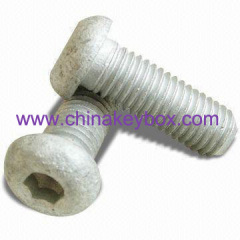 Galvanized carriage bolts