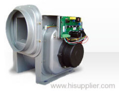 Biaxial extension AC brushless motor