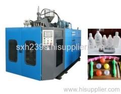 Auto plastic blow moulding machine