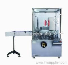 Automatic box packaging machine for tube