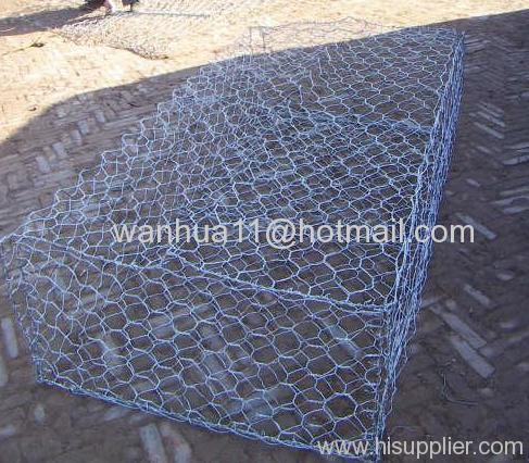 hexagonal wire mesh box
