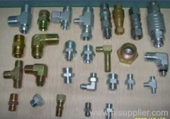 hydraulic fitting and adapter