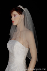 Beaded Bridal Veils