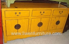 China old kitchen sideboard