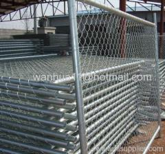chain link movable fence