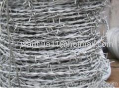 Barbed Wires PVC coated