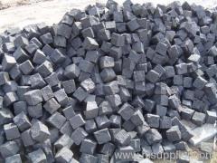 black cube stone and cube setts