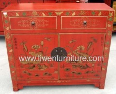 antique painting cabinet