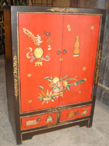 Oriental painting furniture