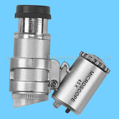 45X Pocket microscope