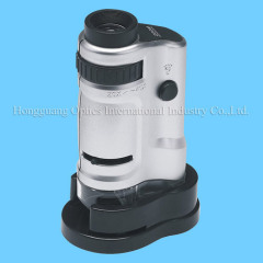 20x-40x pocket microscope