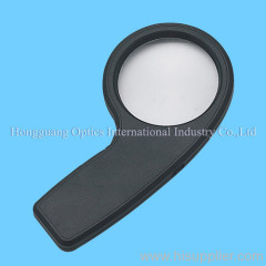 Jewellery illuminated magnifier with money-detecting function