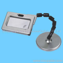 Bench switching magnifier