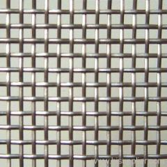 electro galvanized crimped steel wire mesh