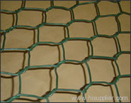 coated PVC hexagonal wire mesh