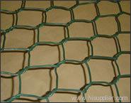 coated PVC hexagonal wire mesh