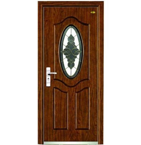 Interior glass wooden door