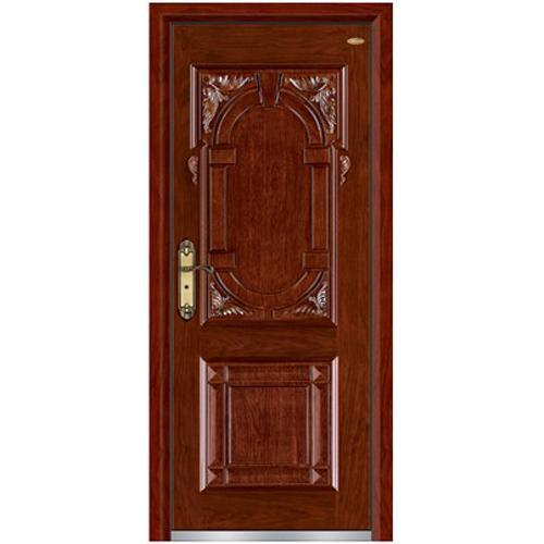 entrance steel wood doors