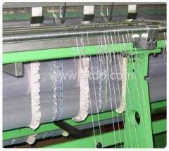 upholstery fabric crochet machine