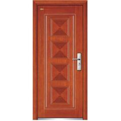 steel interior wood door
