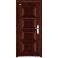 interior wood steel door