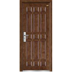steel -wooden doors