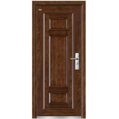 Assemble wood steel door