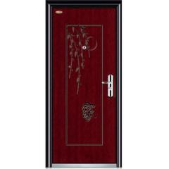 height 2050mm normal wood steel door