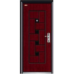normal steel wooden door