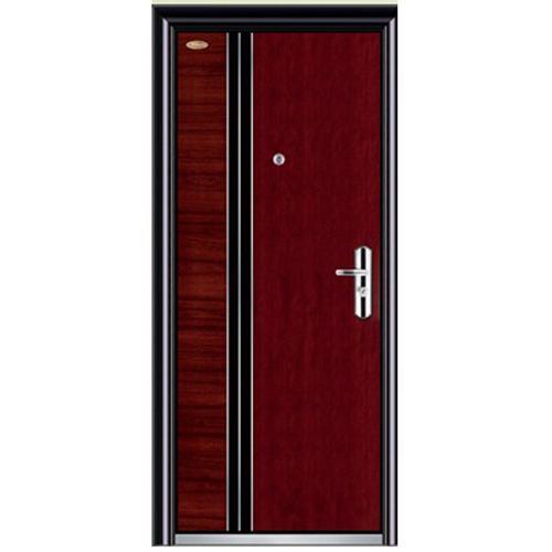 normal wood-steel door