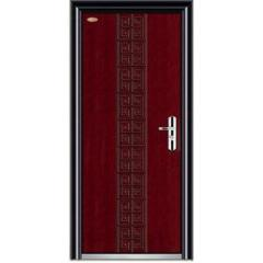 safety wooden steel door