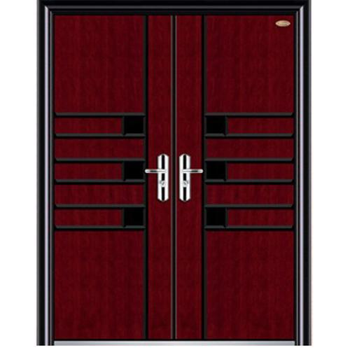 front wood steel nonstandard door