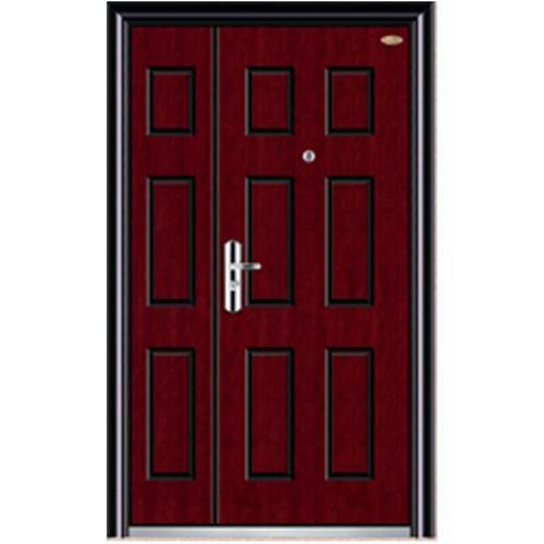 security steel non standard wood door