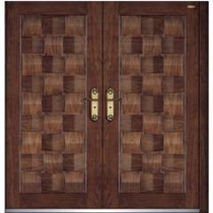 exterior steel wood doors