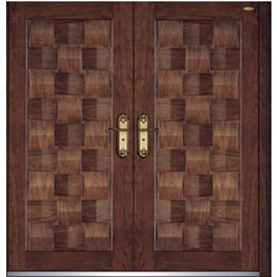 exterior steel wood doors