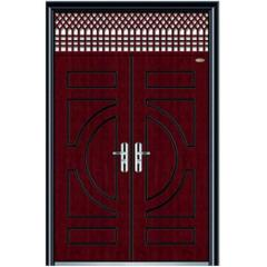 exterior steel wooden door