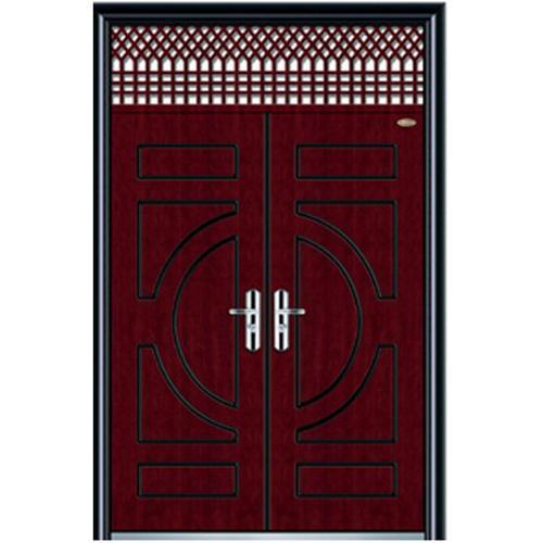 exterior steel wooden door