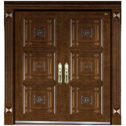 non-standard wood steel doors