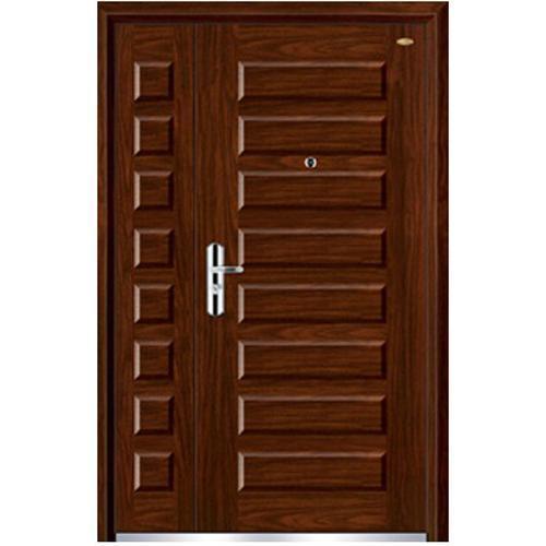 nonstandard wood steel door