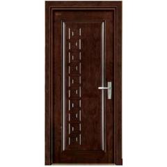 wooden armored doors